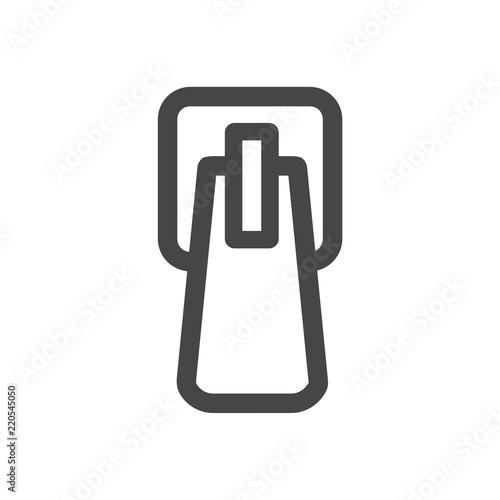 Zip icon, simple style, Zip Clipart - Buy this stock