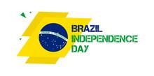 7 September - Brazil Independence Day Banner Vector Illustration