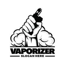 Vape, Vapor, Vaporizer Logo