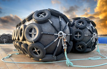 The Big Ship Protection Rubber Float Buoy