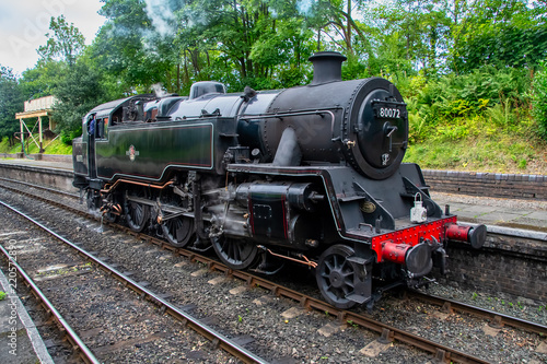 Fotografie, Obraz Steam train from the Llangollen railway