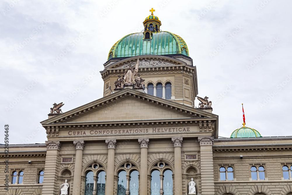 Fotografie, Tablou  Bundeshaus Bern