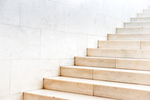 Marble Staircase With Stone St...