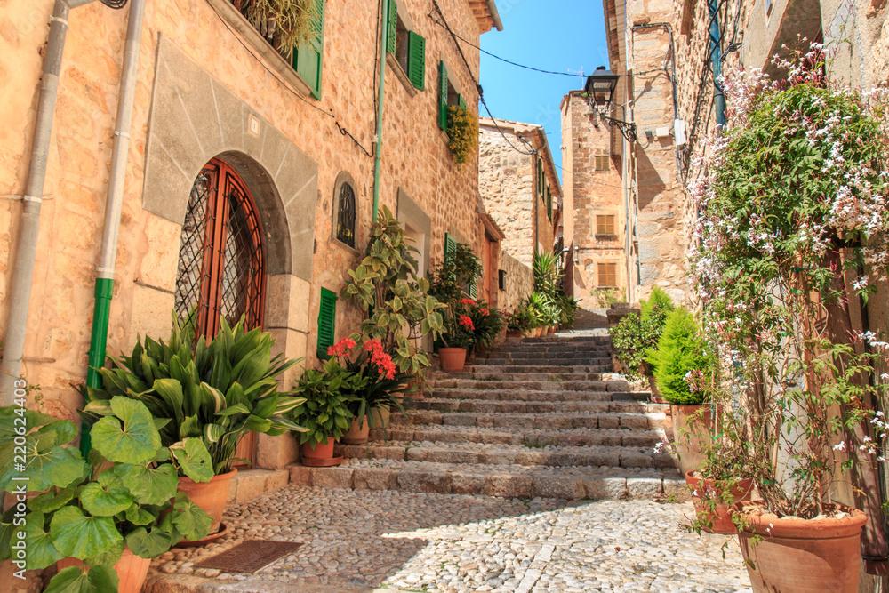 Fototapeta Fornalutx - Mallorca