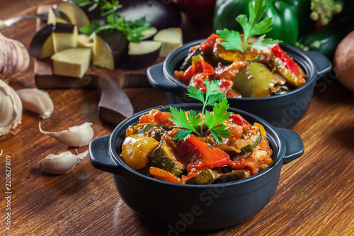 Ratatouille, delicious vegetarian stew