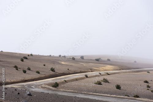 In de dag Zuid-Amerika land Parc national du volcan Chimborazo, Équateur
