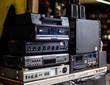old hifi stereo equipment