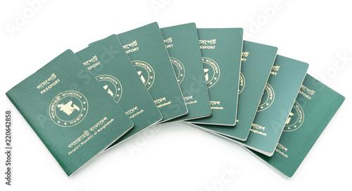 Fotografie, Obraz Passports of Bangladesh