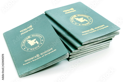 Obraz na plátně  Passports of Bangladesh