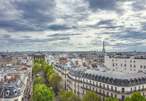 Deurstickers Centraal Europa Paris