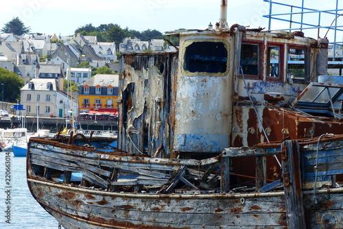 Keuken foto achterwand Schip Bretagne Camaret sur Mer