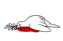 Pigeon Symbol Peace Killed Dea...