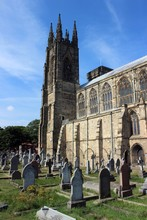 Priory Church, Bridlington, East Riding Of Yorkshire.