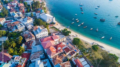 Poster Zanzibar Stone town, Zanzibar, Tanzania.