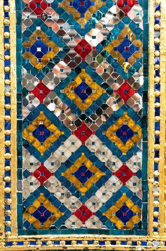 Fotobehang - Pattern of glass mosaic texture background