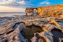 Azure Window In Gozo Malta At ...