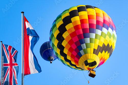 Poster Ballon Internationale Montgolfiade Warstein