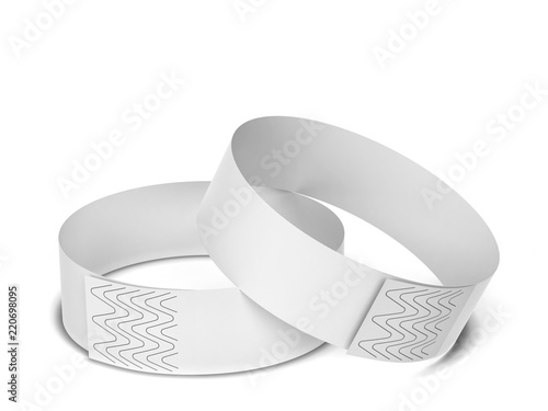 Canvas-taulu Blank paper event bracelet