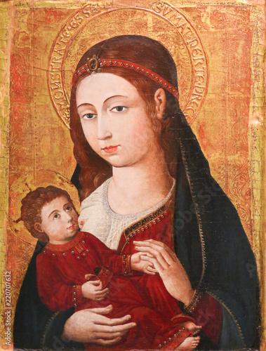 Valokuvatapetti Madonna and Child
