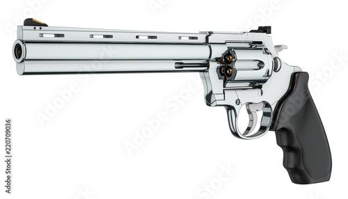 Fotografia Revolver, 3D rendering