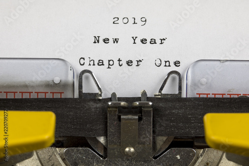 Chapter One 2019