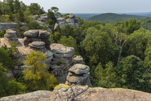 Rock Formations Scenic Landscape