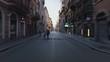 The Via Del Corso, The Main Street In Central Rome - Hyper lapse.