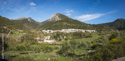 Benamahoma, Spain, a publo blanco (white village) near El Bosque, Spain
