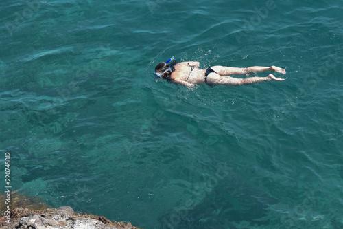 Fotografie, Obraz  Escursione   di snorkeling
