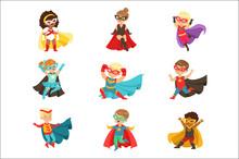 Superhero Girls And Boys Set, ...