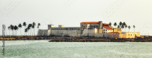 Elmina Castle Canvas Print