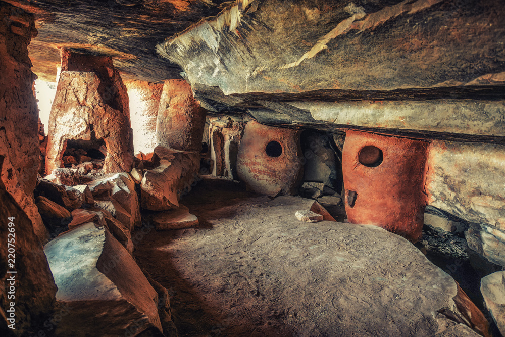 Fototapety, obrazy: Caves Grottes de Nok in Northern Togo in Western Africa