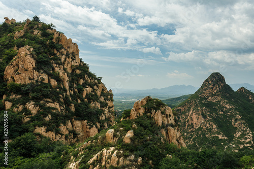 Qinhuangdao, Hebei Sheng, China. August 31, 2018. Mountain park. Life and travel in China