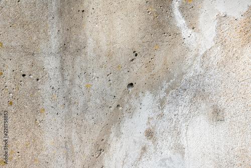 Szare tło ściany betonowej