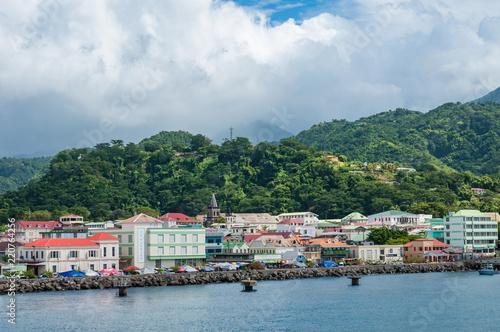 Photo Stands Caribbean Caribbean island Dominica