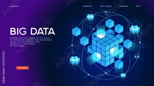 Cuadros en Lienzo Big data Web Banner