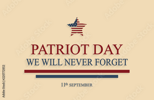 Photo  Patriot Day poster, 9/11