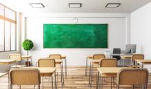 Light Classroom Interior
