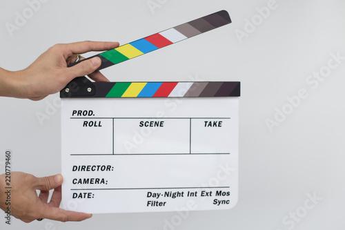 Foto  Movie clapper board,Movie Production