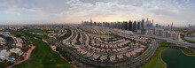 Dubai - Sunset City, Drone View