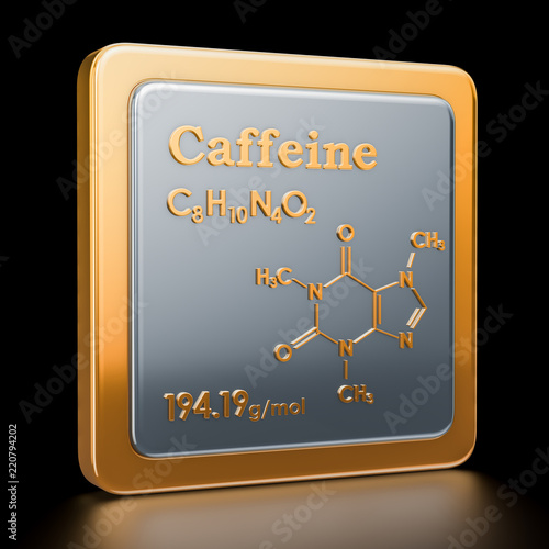 Fotografie, Obraz  Caffeine