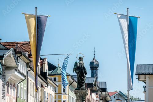 Foto op Aluminium Historisch mon. old town of bad toelz