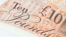 Ten English Pound Note