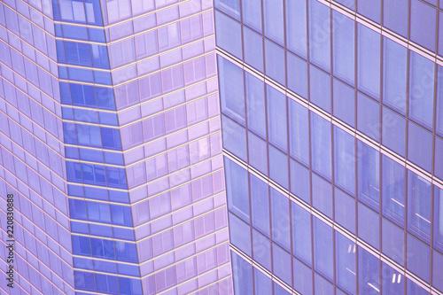 Foto  texture of modern skyscraper