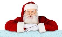 Portrait Of Smiling Santa Clau...