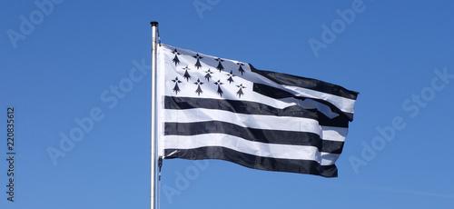 Photo bannière drapeau breton