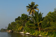 Alappuzha boat ride view at evening