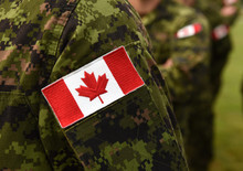 Canada Patch Flag On Soldiers ...