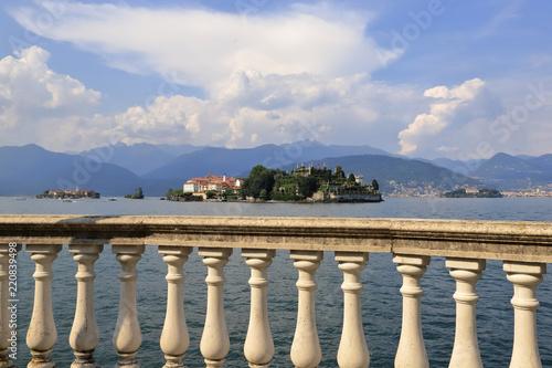 Fotografie, Obraz  ISOLA BELLA SUL LAGO MAGGIORE IN ITALIA