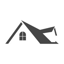 Real Estate Symbol, Roof Icon
